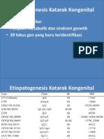 Etiopatogenesis Katarak Kongenital PPT