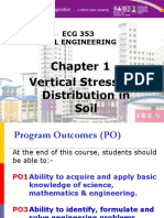 Chapter 1- Vertical Stresses Distribution in Soil