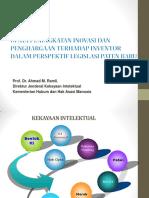 4. Upaya Peningkatan Inovasi Dan Penghargaan Terhadap Inventor Dalam Perspektif Legislasi Paten Baru.pdf