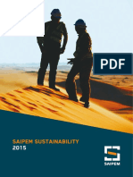 Saipem Sustainability 2015