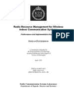 Radio Resource Management for Wireless
