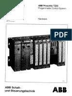 ABB Procontic T200 Systemdescription