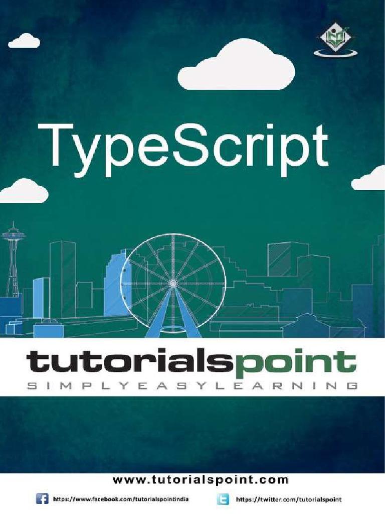 Typescript Tutorial Java Script Command Line Interface