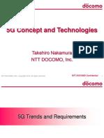 Globecom 2014 WS on 5G New Air Interface NTT DOCOMO