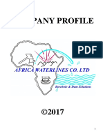Africa Waterlines Company Profile