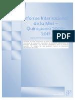 Informe Internacional Del Comercio de Miel 2014