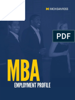 15 Mba Employment Profile12.9.15
