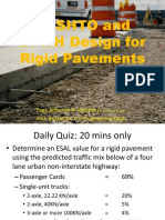 5.1 AASHTO and DPWH Design of Rigid Pavements