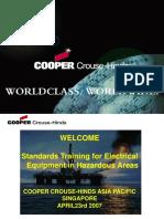 3 Hazardous Area Codes and Standards