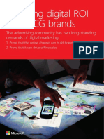 Microsoft Advertising Insights Exploring Digital ROI for Fast Moving Consumer Goods White Paper