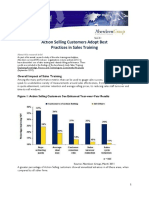 Sales Training Research Study Aberdeen