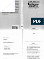 Lidia Fernandez - Instituciones Educativas - Cap 1