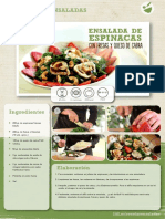 Recetas Ensalada Espinacas