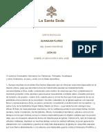 Leone XIII Quamquam Pluries