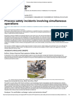 201711_Process Safety Incidents Involving Simultaneous Operations