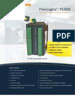 Nova Linha PLC FL005 Expansível