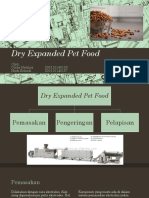Dry Expanded Pet Food