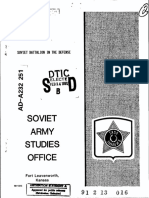 Saso-soviet Battalion in Defense-(1989)