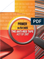 Anti Redtape Act of 2007