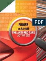 Anti Redtape Act of 2007