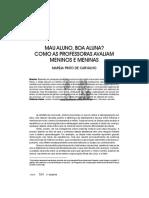 MAU ALUNO, BOA ALUNA COMO AS PROFESSORAS AVALIAM MENINOS E MENINAS.pdf