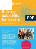 The Open Data Leaders Network flyer