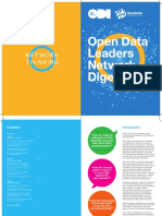 Open Data Leaders Network Digest