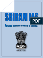 "SRIRAM IAS ,""Personal attention is the key to success"""