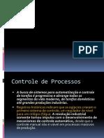 A Presentação Instrumentação (Controle de processos)