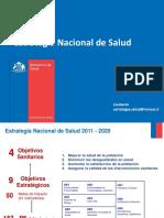 Estrategia Nacional de Salud Reunión 2013