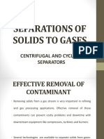 Separations of Solids to Gases Ippi