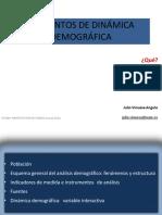 Elementos de Dinámica Demográfica