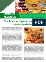 Artigo Técnico 5 - Boas Práticas de Fabricaçãoa