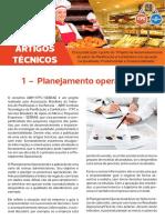 Artigo Técnico 1 - Planejamento Operacional
