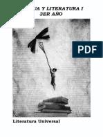 CUADERNILLO Lengua y Literatura 3 ° año