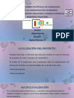 Microlocalización y Macrolocalización.
