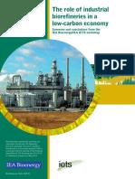 IEABioenergy IETS Industrial Biorefineries Workshop Report