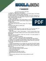 O Diamante - Avaliação Para o 4º Ano Para Imprimir e Para Download
