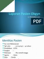 Laporan Pasien Obgyn (1)