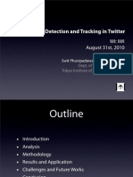 Breaking News Detection and Tracking in Twitter (WI:IW'10)
