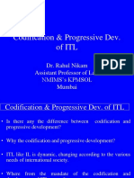 Codification of Itl 3