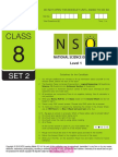Nso Level1 Class 8 Set 2