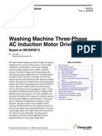 Washinng Machine Three Phase Induction Motor Drvive