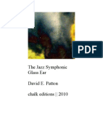 David E. Patton - The Jazz Symphonic Glass Ear