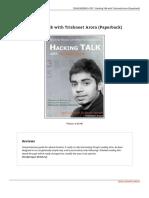 Hacking Talk With Trishneet Arora Paperback