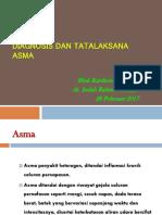 3. Diagnosis Dan Tatalaksana Asma-2017