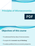 1. Basic Ideas(Microeconomics)
