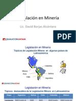 ALM 4.1 Topicos Destacables de La Legislacion Minera en Latinoamerica