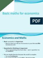 2. Basic Quantitative Ideas