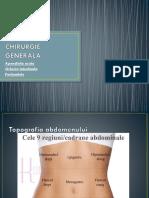 Chirurgie Generala - Apendicita Si Peritonitele